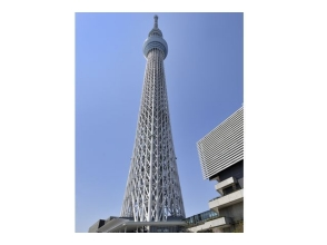 【Bilateral Assemblies】 Tokyo Sky Tree (R) Temptation Deck Entry & Sumida River Cruise and Two New Tourist Tours [9609]