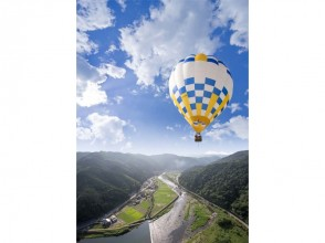 [Gifu / Gujo Hachiman] Let's go for an impressive air travel! Image of hot air balloon experience
