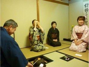 【奈良・奈良市】点ててもらって、自分で点てて ♪ 両方たのしむ茶の湯体験の画像