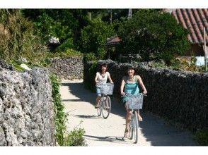 【沖縄】竹富島!水牛車・サイクリング Fコースの画像