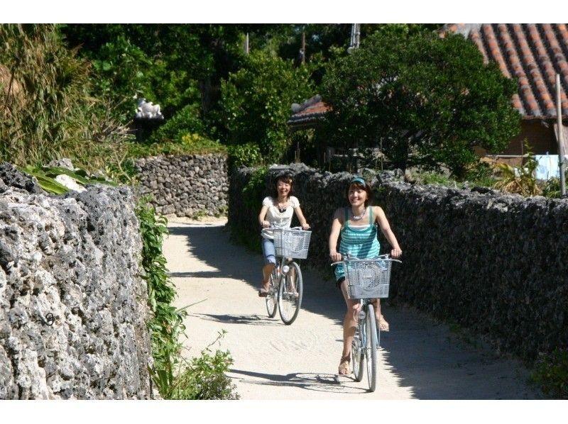 【沖縄】竹富島!水牛車・サイクリング Fコースの紹介画像