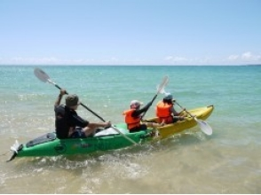 【Okinawa · Ginza】 Image of sea kayaking experience course