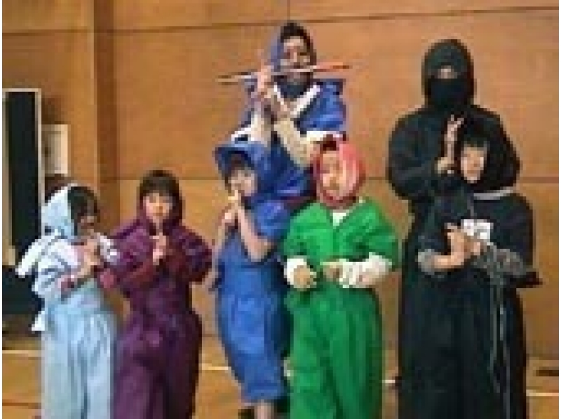 "[Tokyo / Nerima] For foreigners! ""Ninja experience tour with parent and child"" Scroll gift for children!の紹介画像"