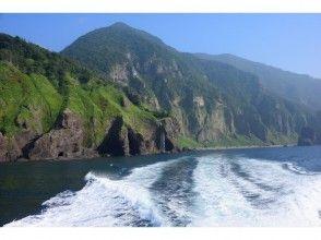 【北海道・知床】<午後出航便>光り輝く午後の知床岬クルーズ乗船♪知床の美しさは午後にこそ見出される!