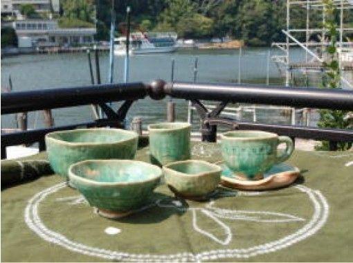 【静岡・浜名湖畔】浜名湖目の前!味わいのある手作り感!陶芸「手びねりコース」体験