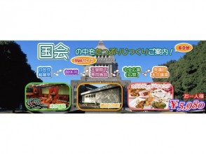 <Popularity! Social Studies Tour> Tour of Parliament House and House of Representatives and Popular Hotel Biking [3781]