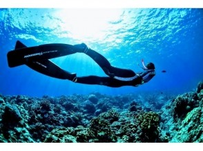 【Okinawa · Kerama Islands】 Skin diving with beautiful sea! It is! 【Image with Skin Diving Course】