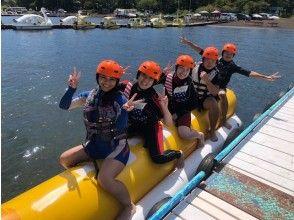 [山梨縣山中湖]工作人員首選!飛板的經驗和香蕉船計劃