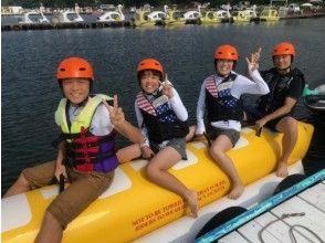 成為[山梨縣山中湖]早日習慣!滑水經驗和香蕉船計劃