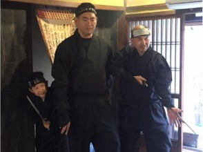 【Osaka】 Transformed into a ninja · Free walks [costume rental: long]