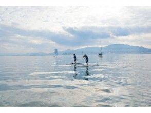 [บิวะโกะ·ประสบการณ์การเล่น SUP] ทะเลสาบบิวะ·โอซึแผนประสบการณ์ SUP (เต็ม 2 ชั่วโมง)