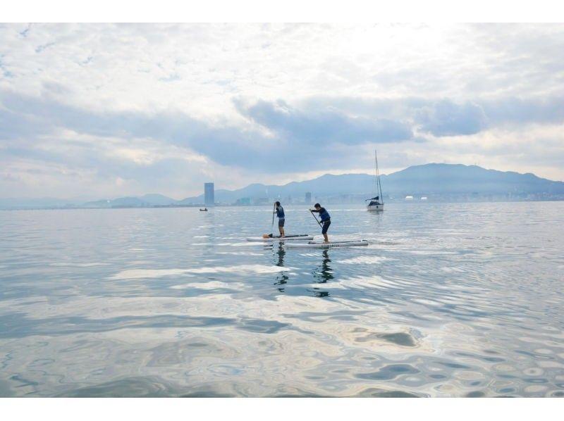 【Biwako · SUP experience】 Lake Biwa · Otsu SUP experience plan (plenty of 2 hours)の紹介画像