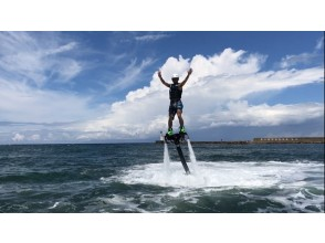 【 Hyōgo · Toyooka】 Once again after the first experience! Flyboard 2 times set plan (40 minutes)