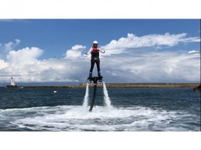 【 Hyōgo · Toyooka】 A totally new afternoon walk! Wed Fly the sky in the pressure ★ fly board first experience (20 minutes)