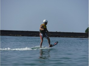 【Hyogo · Toyooka】 For experienced people! Flying surfing hover board (10 minutes)