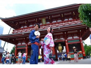 【東京・浅草】着物浅草周遊プラン/KIMONO WALKING TOUR in ASAKUSAの画像