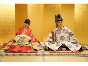 【京都・伏見】十二単・直衣 婚礼記念撮影プラン~平安時代の華やかな装いで婚礼記念写真~の画像
