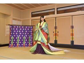 【京都・伏見】十二単・直衣 成人式・自分へのご褒美記念撮影プラン~平安時代の華やかな装いで記念撮影~の画像