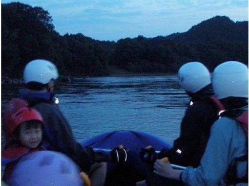 【Ibaraki / Nakagawa】 Recommended for ladies ★ Moon Light Nature Raftingの紹介画像