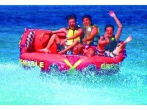 【沖縄・宮古島】日本一美しい前浜ビーチでバナナ&マーブル&ジェットスキー&ビーチBBQ!団体割有の画像