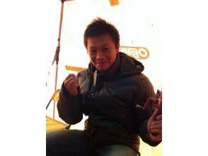 南富良野トマム【金山湖 冬の風物詩】氷上ワカサギ釣りの画像