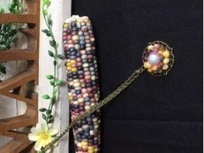 【北海道・美瑛町】グラスジェムコーンのネックレス作り(120分)の画像