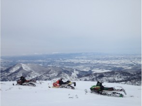 [Snowmobile] even for beginners OK! Image of Rinkan Course (150 minutes)