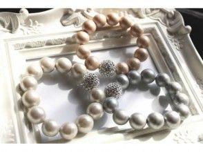 [橫濱,神奈川]在聚合物粘土製成珍珠式錶帶圖像的,