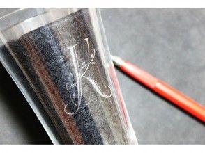 使用[橫濱,神奈川]玻璃Rittsuen,初始玻璃圖像的