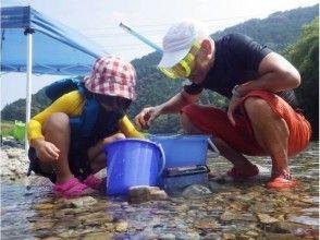 【徳島・牟岐】★色々な川遊びを体験したい方必見★よくばり川遊び(3時間コース)の画像
