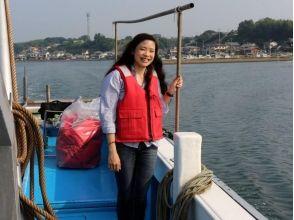 【大分・別府】漁船で海の城下町へ。〔朝市と別府湾漁船クルージング〕の画像