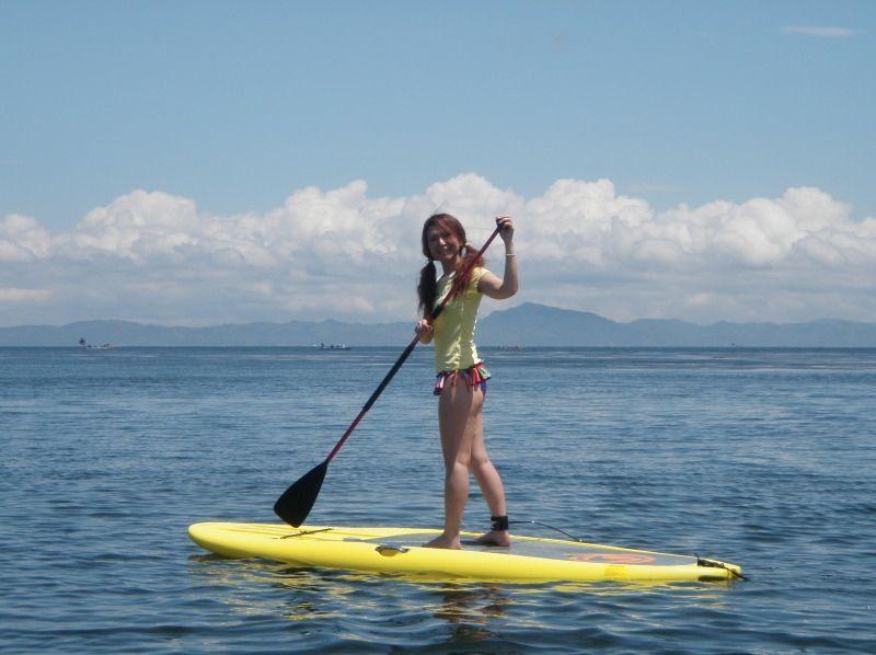 【Kanagawa · Miura Coast】 Anyone can take a walk at sea immediately! Introduction image of SUP experience