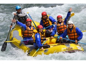 """【Gunma · Minakami】 """"Early Bird Campaign! June Weekday only """"Thrilling full! Spring rushing rafting (half day course)"""