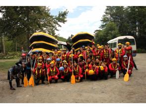 [Hokkaido Furano] enjoy the OK ♪ »Sorachi river rafting - Hokkaido's leading wilderness from «5 years old -