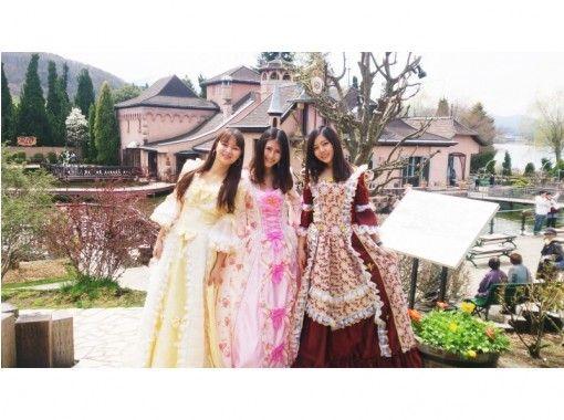 【山梨・河口湖】音楽のテーマパークでお姫様になろう「プリンセス体験」写真映えするスポットが沢山!