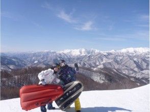 【Gunma · Mizuki】 Enjoy the slopes! Image of air board experience (1 day course)