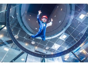 "【Receiving end】 Japan's first landing! Let 's dance in the air ""at the topic indoor skydiving! Now one flight addition service! Image of"
