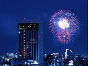【2017 Sumidagawa fireworks display】 Asakusa View Hotel Fireworks Special Attendance & Souvenirs <Dinner Viking> 【9690】