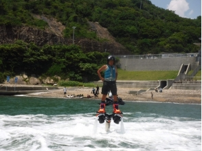【Hyogo · Himeji】 Beginner's big welcome! Image of the jet blade experience flying acrobatically in the water sky