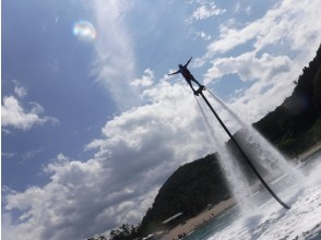【 Hyōgo · Toyooka】 For experienced people! Flyboard 2 times set plan (35 minutes)
