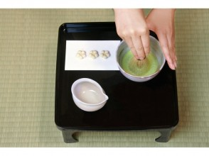 お抹茶&碾き茶とお干菓子作り体験【素敵なお茶の世界へようこそ!】