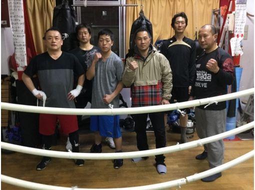 【東京・喜多見】ボクシングジムでサンドバック殴り放題!〔1ドリンク付き40分〕
