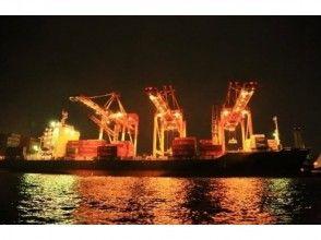 【東京・天王洲アイル】レインボーブリッジ・コンテナ埠頭・東京ゲートブリッジ港湾夜景クルーズ〔乗合〕の画像