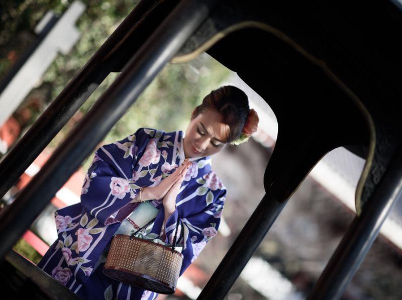 โตเกียว Asakusa กิโมโนเช่า