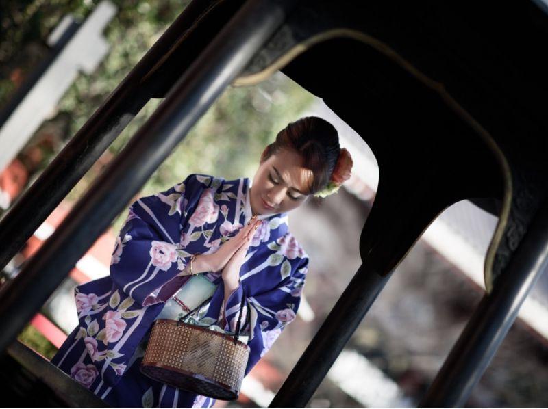 [淺草,東京] Shippori淺草漫步!浴衣,引入和服租賃(正規課程)的圖像