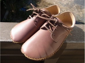 【Tokyo · Chofu】 Choose from six colors. Let's make leather shoes handmade. [Cowhide · 21 cm ~ 28 cm · hand sewn] image