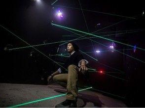 【東京・原宿】「レーザートラップ」3回チャレンジプラン(クーポン1名分)の画像