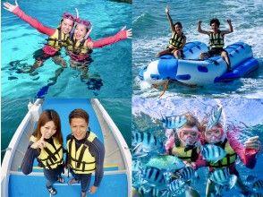 \流行套装/蓝洞浮潜+香蕉船乘船去!让我们尽情享受两次♡