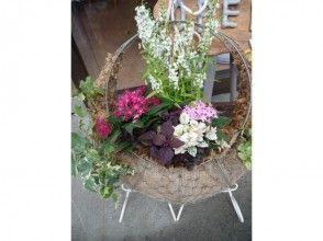 【埼玉県・鴻巣市】ガーデニング体験。花とふれあう喜び。ステキな寄植えを作ろうの画像
