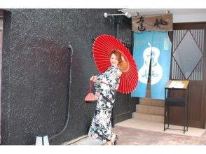 【湘南・鎌倉・着物レンタル】夏限定!鎌倉散歩は浴衣で決まり!手ぶらでOK!簡単ヘアアレンジ付きプランの画像